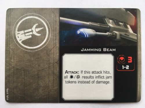 Star Wars X-Wing 2nd Edition Cannon Upgrade Cards