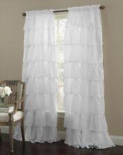 1 Piece Gypsy Ruffled Window Curtain Treatment Panel Drapes