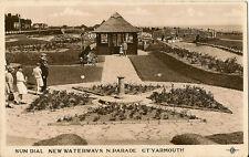 GREAT YARMOUTH (Norfolk) :Sun Dial,New Waterways ,N.Parade RP-PLC