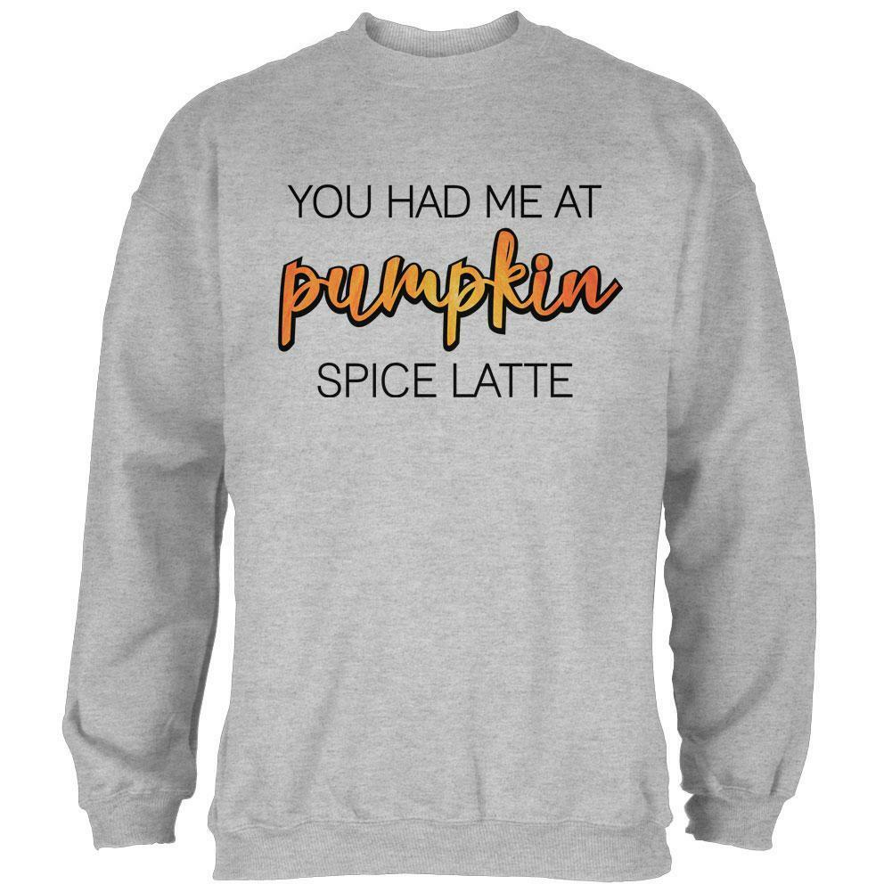Autumn You Had Me at Pumpkin Spice Latte  Herren Sweatshirt