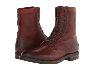 Frye Men's Engineer Tall Lace boots 87808, Redwood leather, NIB, various sizes