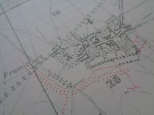 image is loading ww1-1916-1-10-000-scale-trench-map-