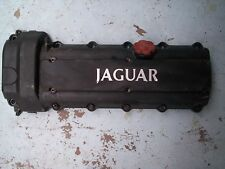 JAGUAR XJR ENGINE MOTOR CYLINDER HEAD COVER w/Camshaft Sensor and Oil Cap