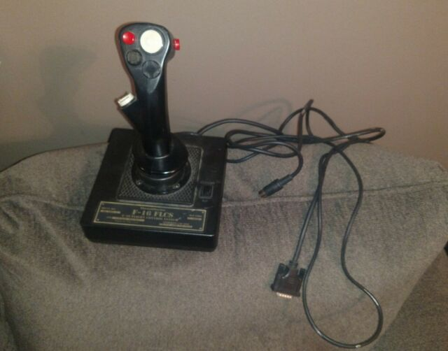 Thrustmaster F-16 FLCS Flight Control System Joystick Made In USA rare untested