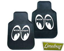 Mooneyes Rubber Car Floor Mats Eyes Moon Equipped VW T1 T2 Bus Beetle Camper Bug