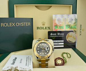 ROLEX-18kt-Gold-amp-Stainless-Steel-Yachtmaster-Slate-Dial-16623-SANT-BLANC