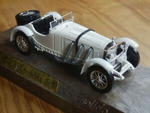 SOLIDO-Age-d-039-Or-Mercedes-SSKL-1931-4001-vintage-car-miniature-scale-model