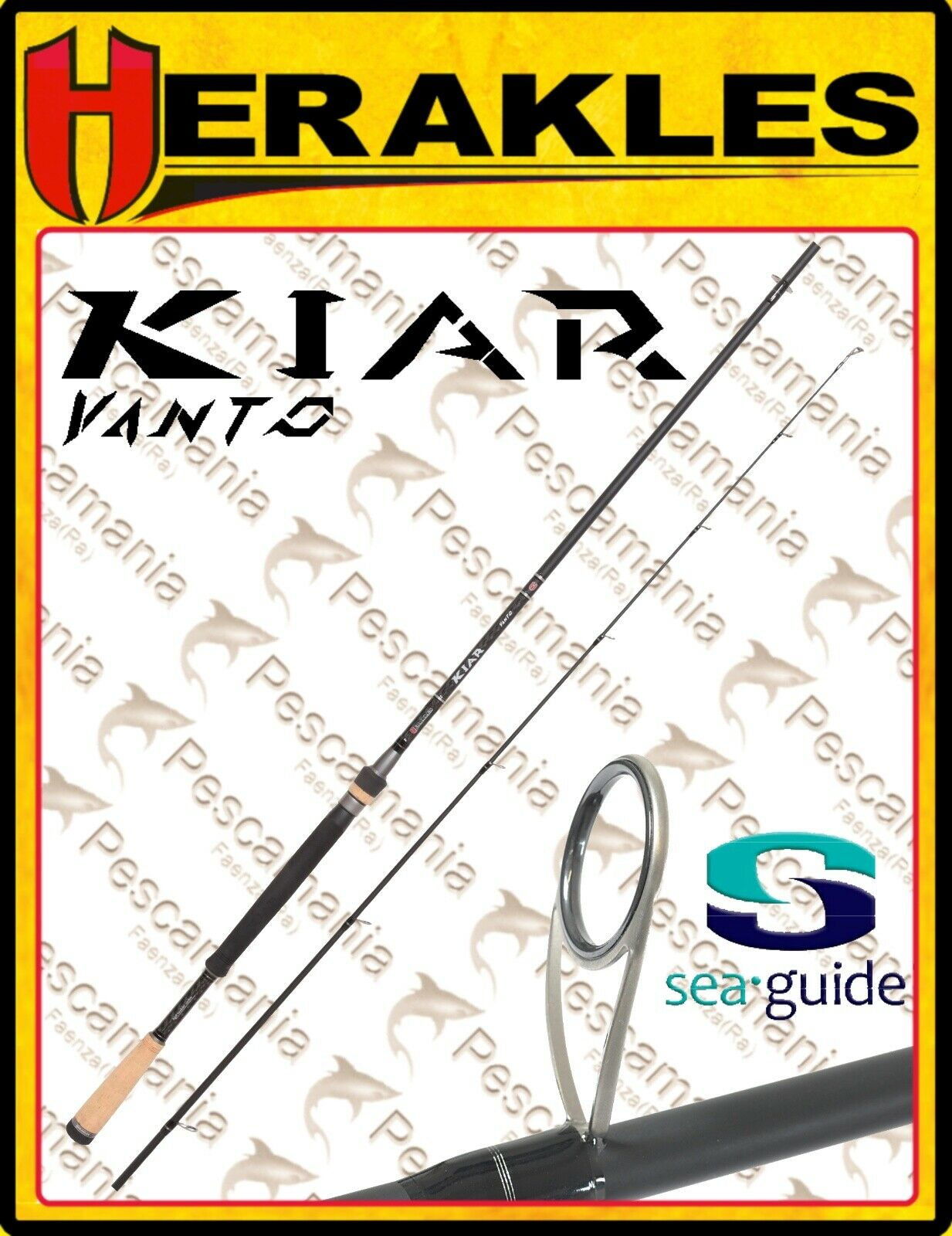 Canne colmic Herakles Kiar Vanto series spinning sea-guides