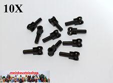 Lego® Technic 6 Winkelverbinder  Kreuzloch 2M  Schwarz  4107081 32039