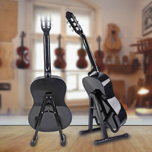 UNIVERSAL-A-FRAME-GUITAR-STAND-Fits-ALL-Guitars-Acoustic-Electric-Bass-Foldable