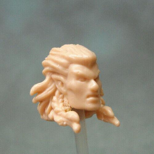 """MH447 Custom Cast sculpter Male Elf head Cast pour utilisation avec 3.75/"""" figurines"""