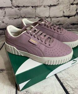879d14402e Details about Puma Cali Nubuck Women Size 8.5 Purple Lilac