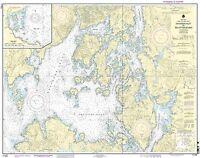 Noaa Chart Davidson Inlet, Sea Otter Sound, Edna Bay 15th Edition 17403