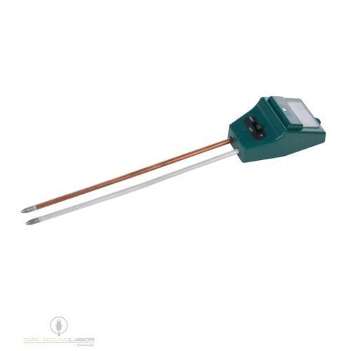3in1 Bodenmessgerät Boden Messgerät ph-Wert Feuchtigkeit Lichtintensität NEU