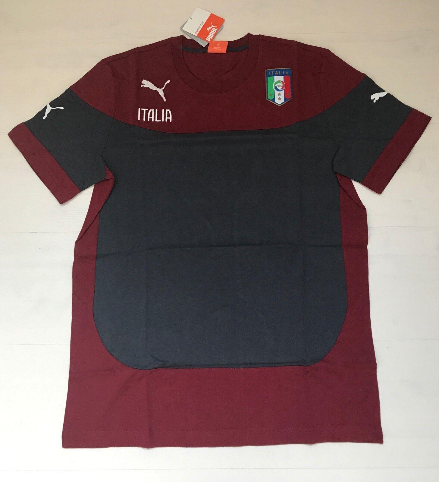 3356 PUMA ITALY T-SHIRT TEE T-SHIRT COTTON SHIRT MAN 744272 04