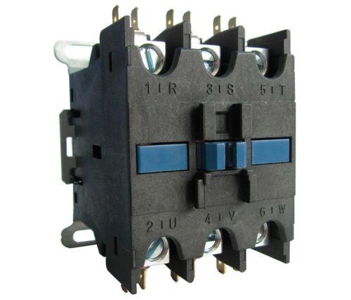 208//240VAC Definite Purpose Contactor 3 Poles 63 Full Load Amps
