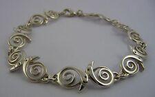 Scottish Ola Gorie Sterling Silver 925 Kells Bird Bracelet