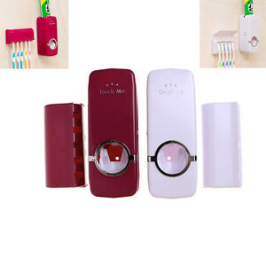 Accessoire-de-salle-de-bain-dentifrice-automatique-distributeur-de-brosse