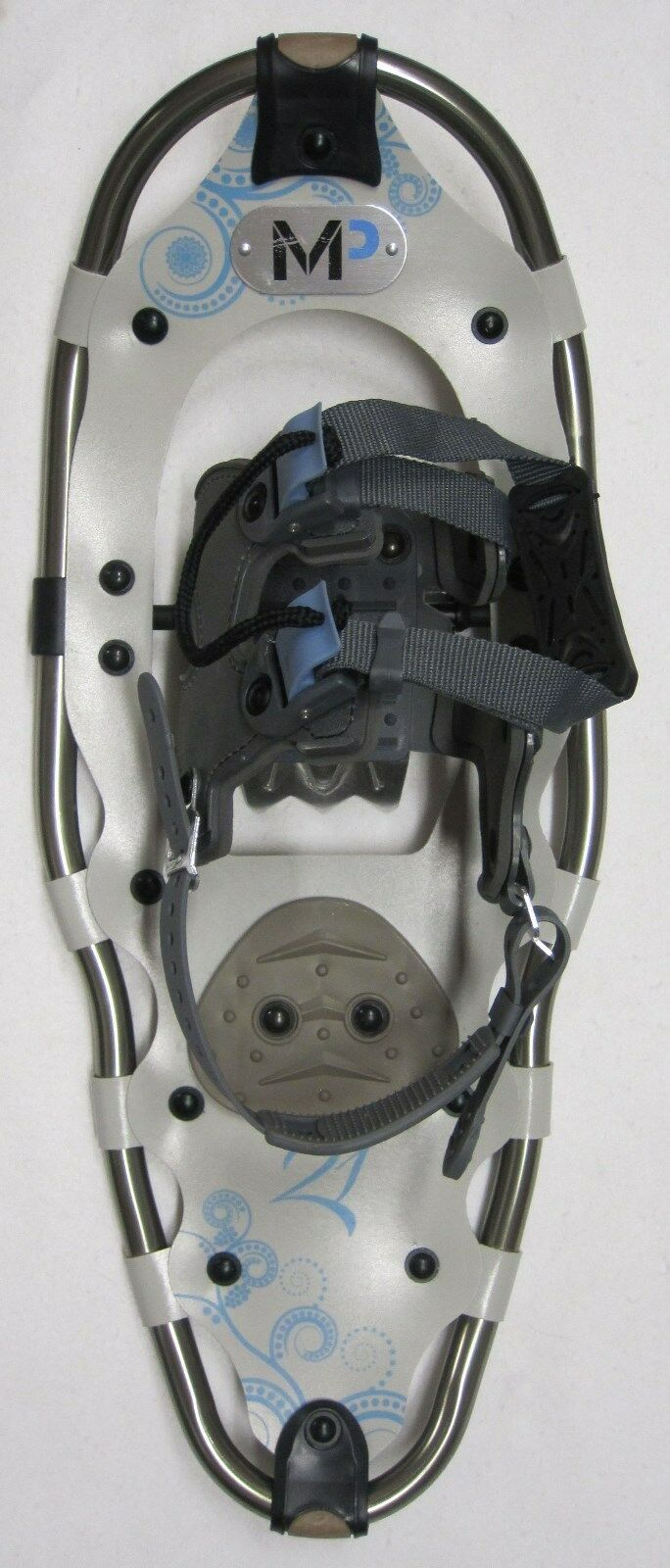 NEW YUKON CHARLIES MP 821 8x21  SNOWSHOES -Best Binding Technology -FREE GAITERS