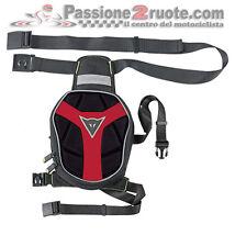Borsello Gamba Dainese D-Exchange Leg Bag Small Nero Rosso Moto