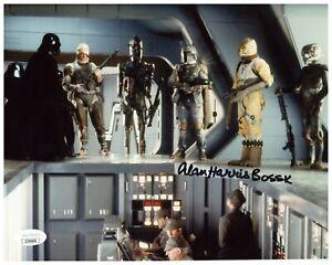 "Alan Harris Autograph Signed 8x10 Photo - Star Wars ""Bossk"" (JSA COA)"