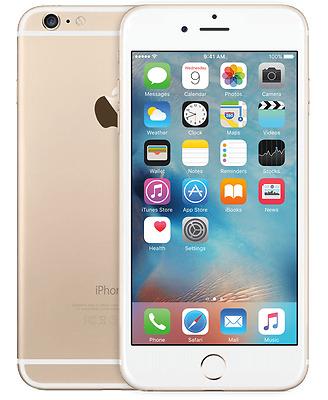 "Apple iPhone 6 16GB GSM""Factory Unlocked""Smartphone Gold"
