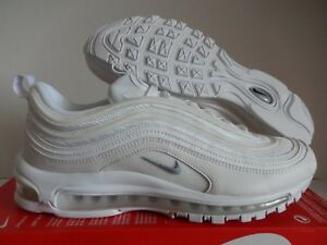 Details about NIKE AIR MAX 97 WHITE WOLF GREY BLACK SZ 11 [921826 101]