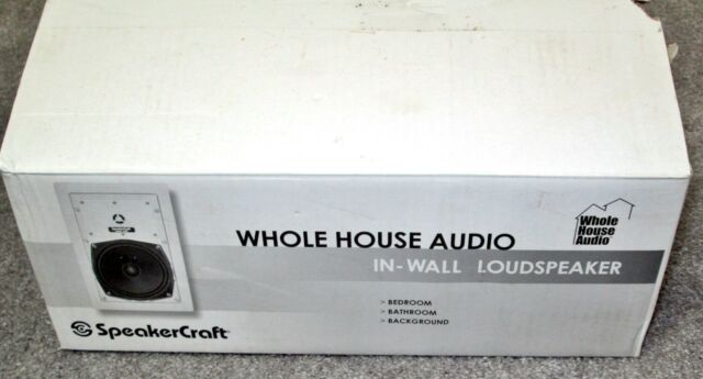 "NEW & Never Used in Box SpeakerCraft WH6.0RT In-Wall Loudspeaker 6.5"" Woofer"