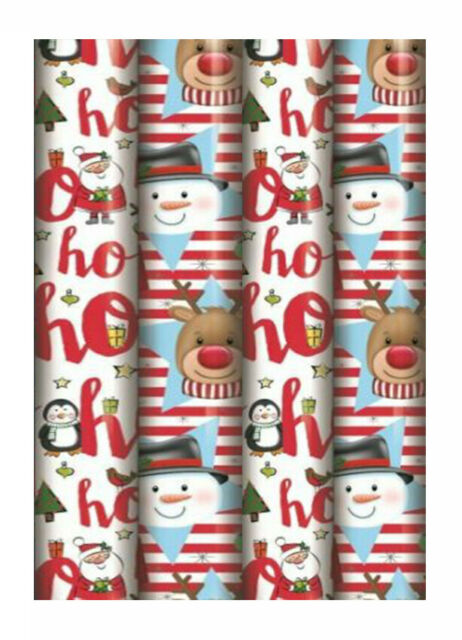 Pink Birthday wrapping paper roll 2 rolls 50cm x 4m =  8 meters xmas wrap
