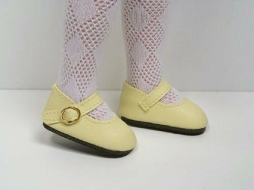 """LT YELLOW Basic Doll Shoes For Tonner 14/"""" Betsy McCall Debs"""