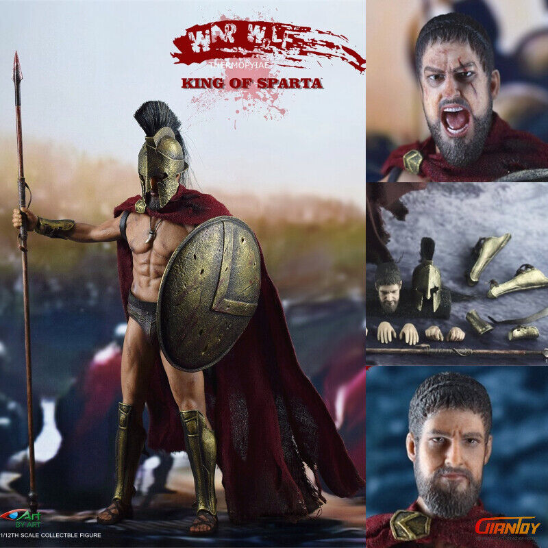 Pre-order 1 12 Scale BY-ART BY-S01 re OF SPARTA SPARTA SPARTA 6 in azione cifra 788cdf