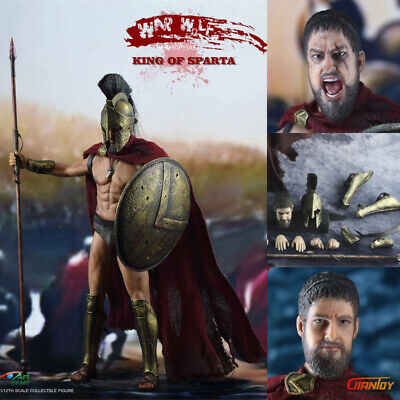 In-stock 1//12 Scale BY-ART BY-S01 KING OF SPARTA 6 in Action Figure