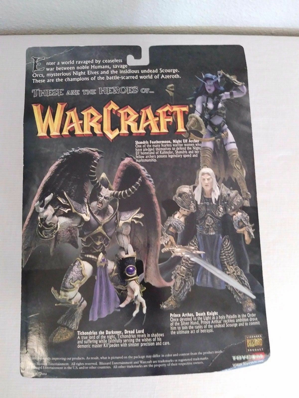 World of Warcraft Tichondrius the Darkener Dread Lord Toycom Toycom Toycom Blizzard Figure 9cb27c