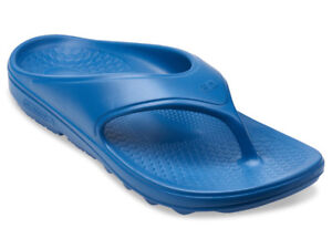 Spenco-Fusion-2-Men-039-s-Flip-Flop-Sandal-Dark-Blue-Size-9-New-in-Package