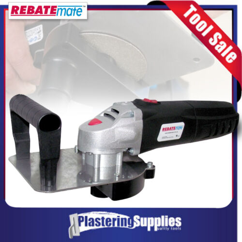 RebateMate Tool Plasterboard and Cement Sheet Butt Joint System RMT Rebate Mate