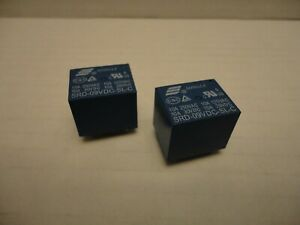 2-Pcs-Lot-Songle-10A-9V-DC-Blue-Power-Relay-SRD-09VDC-SL-C-5-Pins-250-125-30-28
