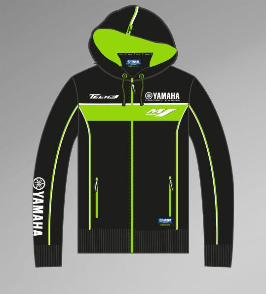 Official Tech 3 Yamaha Team Zip Up Hoodie