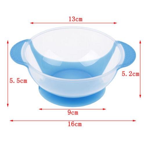 1Pc Baby cutlery kids children non-slip suction bowl sucker bowl feeding RDR