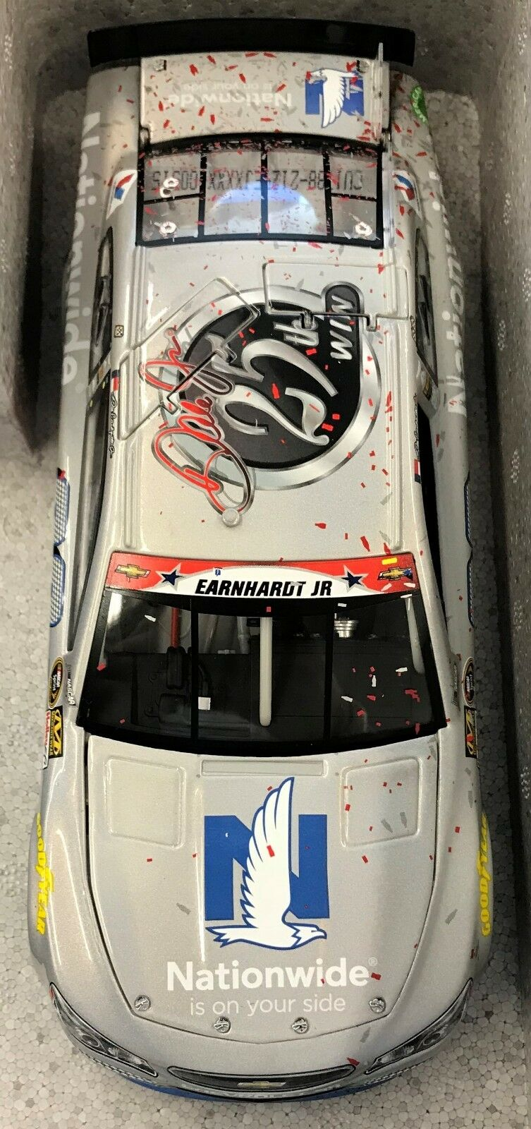Dale Earnhardt Jr. - 2015 1:24  88 Nationwide 25th Career Win Flashcoat  888