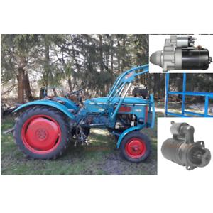 Anlasser-fuer-Hanomag-Perfekt-301-400-400E-401-401E-Motor-D301-AKS3031-2-4KW-NEU
