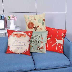 45x45cm-Christmas-Cushion-Cover-Throw-Pillows-Case-Cotton-Linen-For-Sofa-Funda