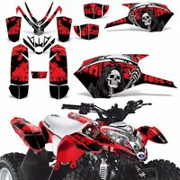 Decal Graphics Kit For Polaris Outlaw 50 Atv Quad Graphics Wrap Deco Reap Red
