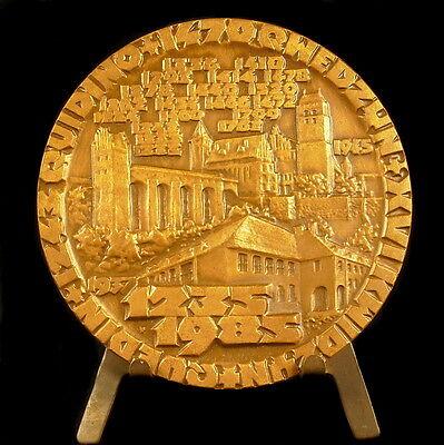 Medaille Pologne Poland Ten Wybito Rocznice Nadania Praw Nieskich Quidino Medal 100% Original