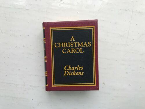 DEL PRADO MINIATURE BOOK LIBRARY CLASSICS CHARLES DICKENS A CHRISTMAS CAROL