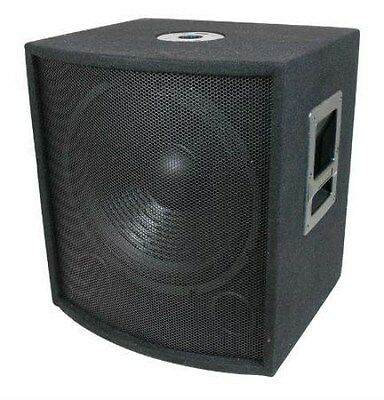 """1000 Watt DJ PA 18"""" Subwoofers with Cabinets and Crossovers, NEW!"""