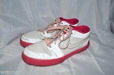 Air Jordan Retro Shoes V.1 Girls 7 Youth Medium White Leather Laces Athletic