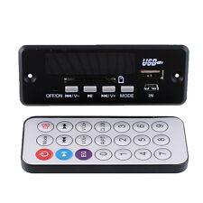 New Black Mini Remote Control USB SD FM MP3 Audio Player Module DC5V-12V DIY
