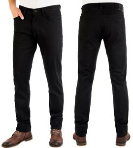 Wrangler-Herren-Jeans-Hose-Greensboro-Black-W30-W33