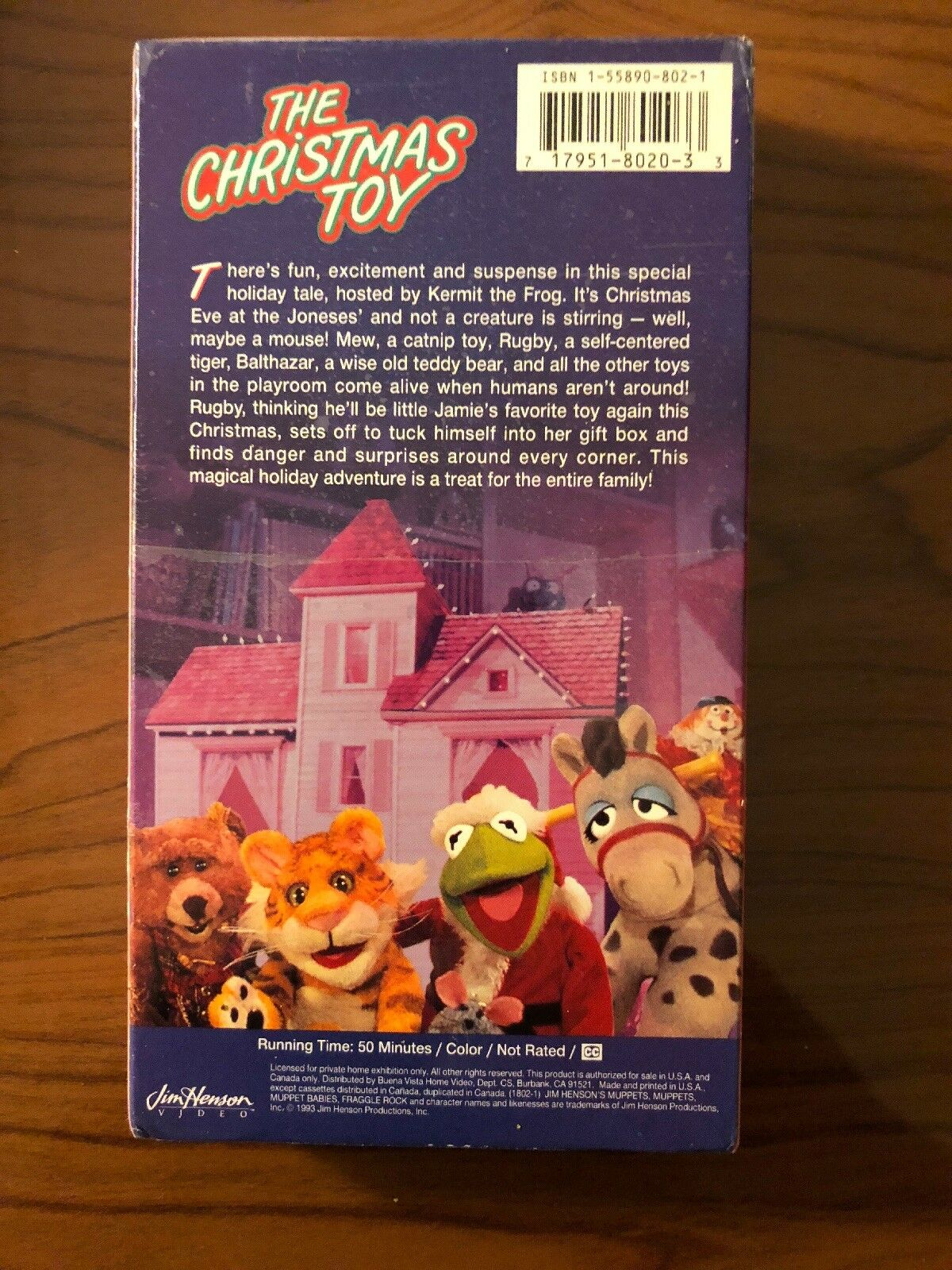 The Christmas Toy VHS Jim Henson 717951802033 | eBay