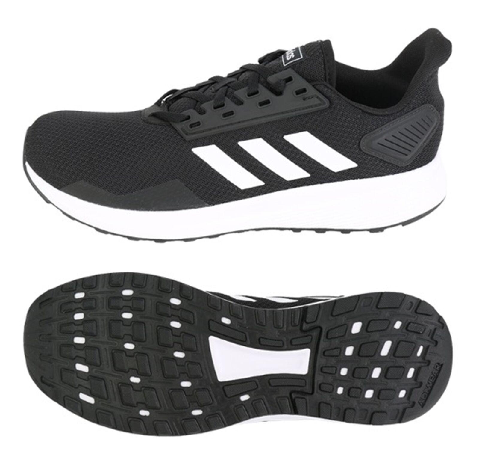 Adidas Hommes Duramo 9 Training Adiwear Chaussures Noir Running Chaussure Baskets BB7066